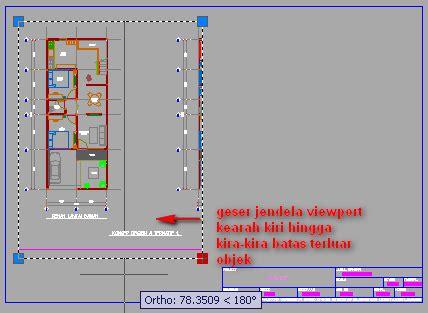 tutorial autocad untuk pertambangan prinsip cara melakukan layout gambar di autocad tutorial