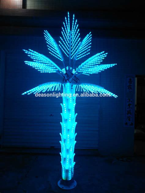 indooroutdoor lighted palm tree lowes buy light  palm