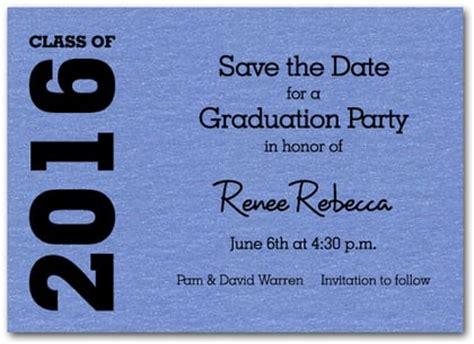 save the date graduation cards templates shimmery blue graduation save the date cards