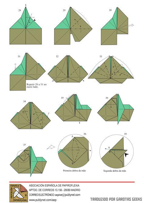 aprenda a fazer o yoda em origami garotas geeks