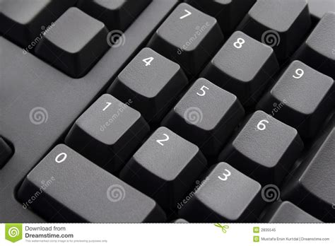 numbers  keyboard stock image image  technology