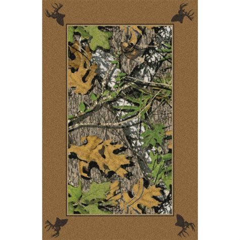 Camo Area Rug Marshall 4x6 Mossy Oak 174 Obsession 174 All Camo Area Rug 131667 Rugs At Sportsman S Guide