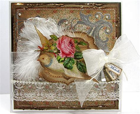 Handmade Vintage Cards - vintage handmade wedding card reader featured project