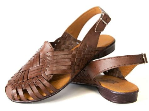 s mexican sandals closed toe woven style 21 huarache sandals sidrey ebay