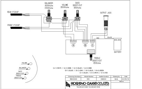 ibanez bass wiring diagram efcaviation