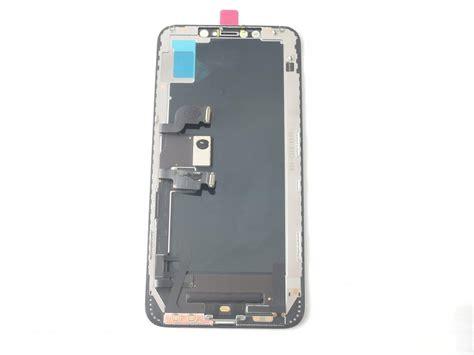 pantalla oled y tactil para iphone xs max negra