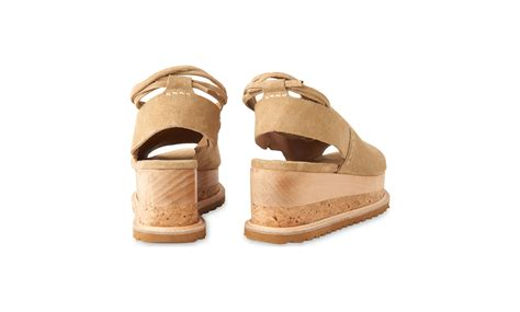Hk Wedges Suede 2 rada suede wedge sandals whistles