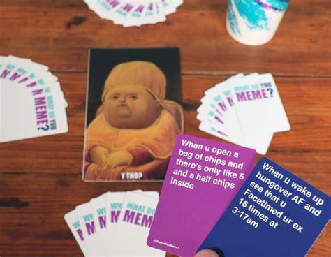 meme card game popsugar tech photo