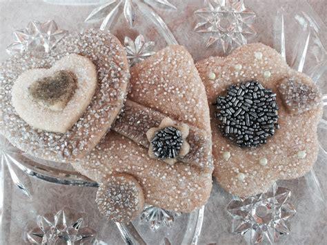 Wedding Bell Sugar Cookies by Wedding Hearts Bells Flower Sugar Cookie Cut Out Favor