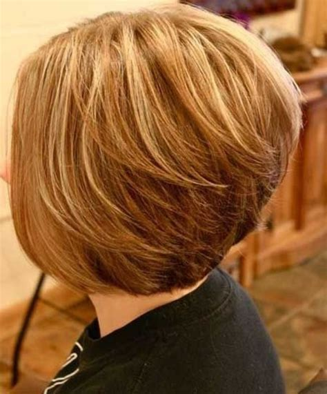 medium hair in back in front long bob haircuts back view