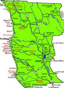 pin california map shape on