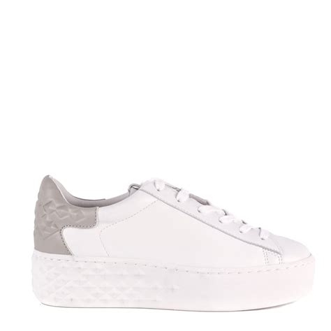 Detox Leather by Shop Ash Footwear For Detox Trainers In White