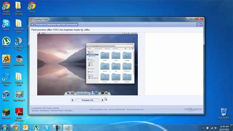 best themes for windows 7 youtube best mac theme for windows 7 youtube