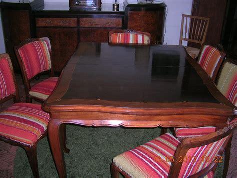 juego de comedor luis xv muebles vintage uruguay
