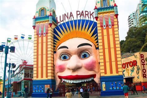 Rugged Travel Luggage A Free Ish Afternoon In Luna Park Sydney Australia