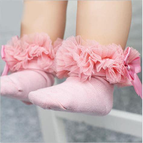 Rok Tutu Lace Ribbon 1 2 6y tutu socks baby socks princess silk