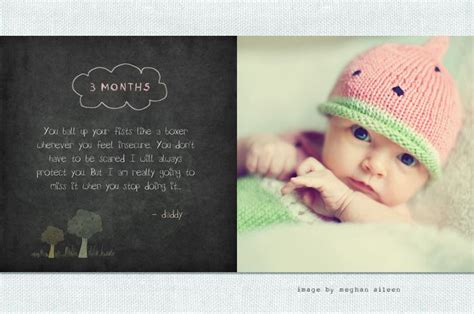 baby photo book template 1000 images about baby 1st year album idea on