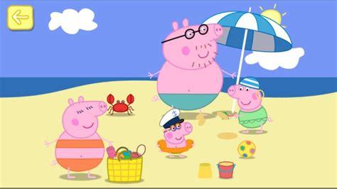 peppa pig de vacaciones 8437281199 peppa pig en espa 241 ol la casa de vacaciones en la playa youtube
