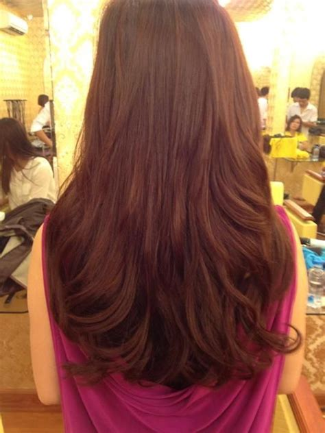 few long layers on thick hair long layers for thick hair adornideas com