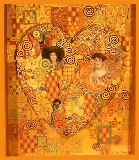 google images klimt klimt heart klimt painting crafts ideas art quilt