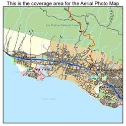 goleta california map aerial photography map of goleta ca california