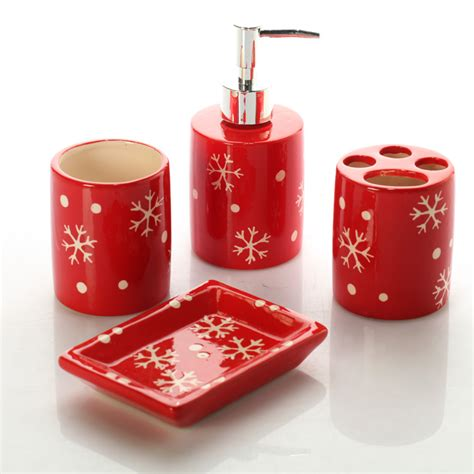 holiday bathroom decor sets shop popular christmas toothbrush holder from china