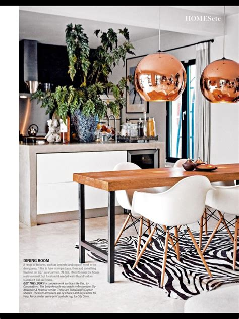 copper pendant lights kitchen contemporary kitchen and dining home living design