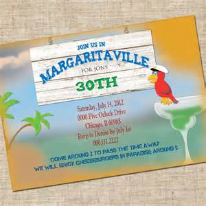 printable margaritaville birthday invitation personalized