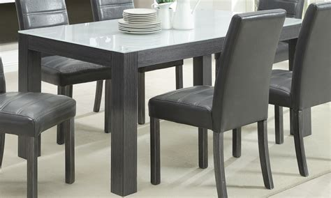 grey dining room table sets prettiest grey wood dining table models homeideasblog