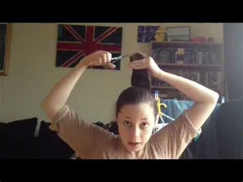 cut your own layered bob diy layered bob hair cut a tutorial youtube again