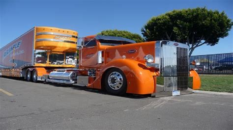 bad classic trailer peterbilt reliable classic car hauler with a ultra solid