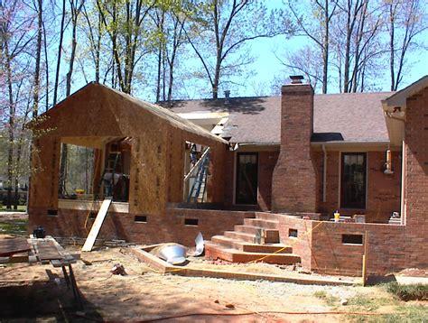 Porch To Sunroom Sunroom With Brick Patio