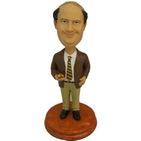 m m bobblehead quot the office quot kevin malone 2nd edition bobblehead with m s
