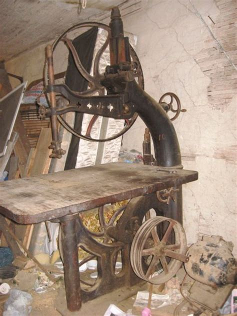 owwm woodworking photo index connell dengler machine co band saw