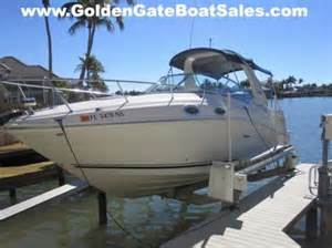 sea ray boat generator sea ray sundancer 260 generator boats for sale