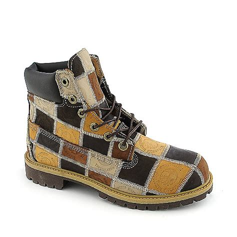Mens Patchwork Boots - timberland patchwork mens work boot