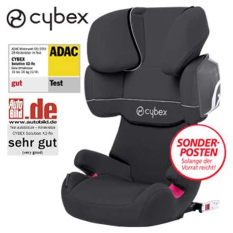 Auto Kindersitz Solution X2 Fix by Kindersitz Silver Solution X2 Fix Real Ansehen