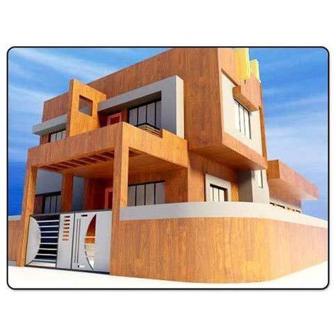 exterior view 3d architectural exterior view in nashik maharashtra