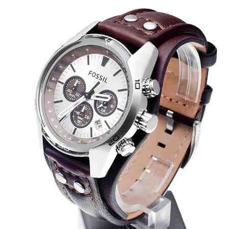 Jam Tangan Wanita Gc Date Crono Aktif Leather jual fossil ch2565 coachman chronograph brown leather baru fossil ch2565 terbaru murah