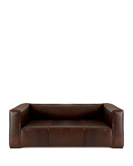 old hickory tannery leather sofa old hickory tannery mathis leather sofa