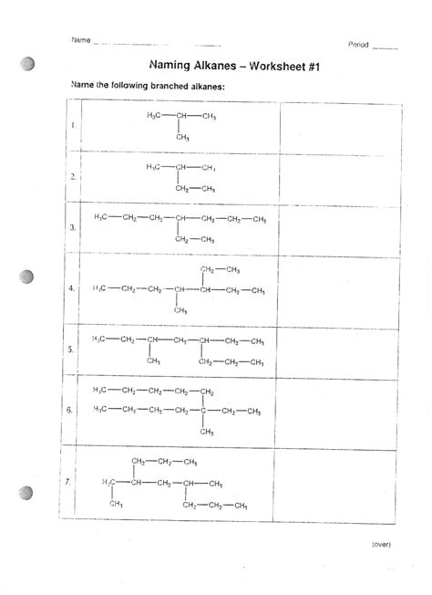 16 best images of naming organic compounds worksheet chemistry naming compounds worksheet