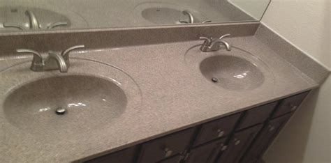 refinishing bathroom countertops kitchen countertop resurfacing refinishing done in 1 day
