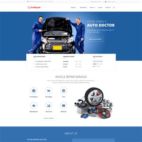 motor website cars templates