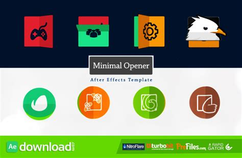 after effects free templates openers minimal logo opener videohive project free download