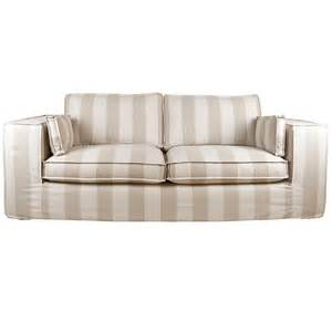 contemporary sofas comfort fabric sofa wide stripe