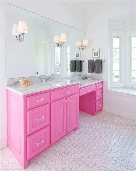 pink bathroom mirror large mirrors in the bathroom 5 inspirations