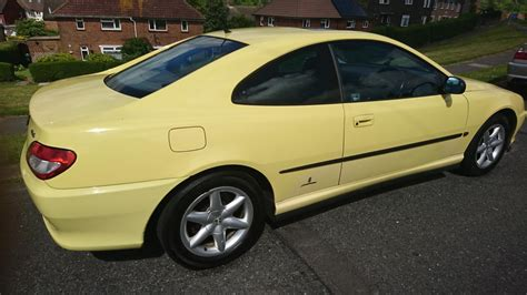 peugeot yellow roffle peugeot 406 3 0 v6 coupe manual yellow all