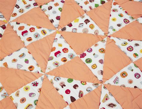 Patchwork Orange - win 163 154 safomasi baby quilt and cushions the early hour