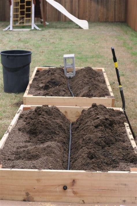 raised bed irrigation irrigation system for raised bed cool and cute pinterest