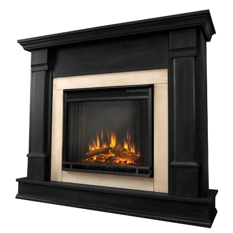 real electric fireplace sears